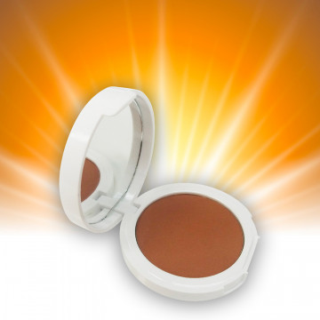Silky bronzing compact powder case 10 g