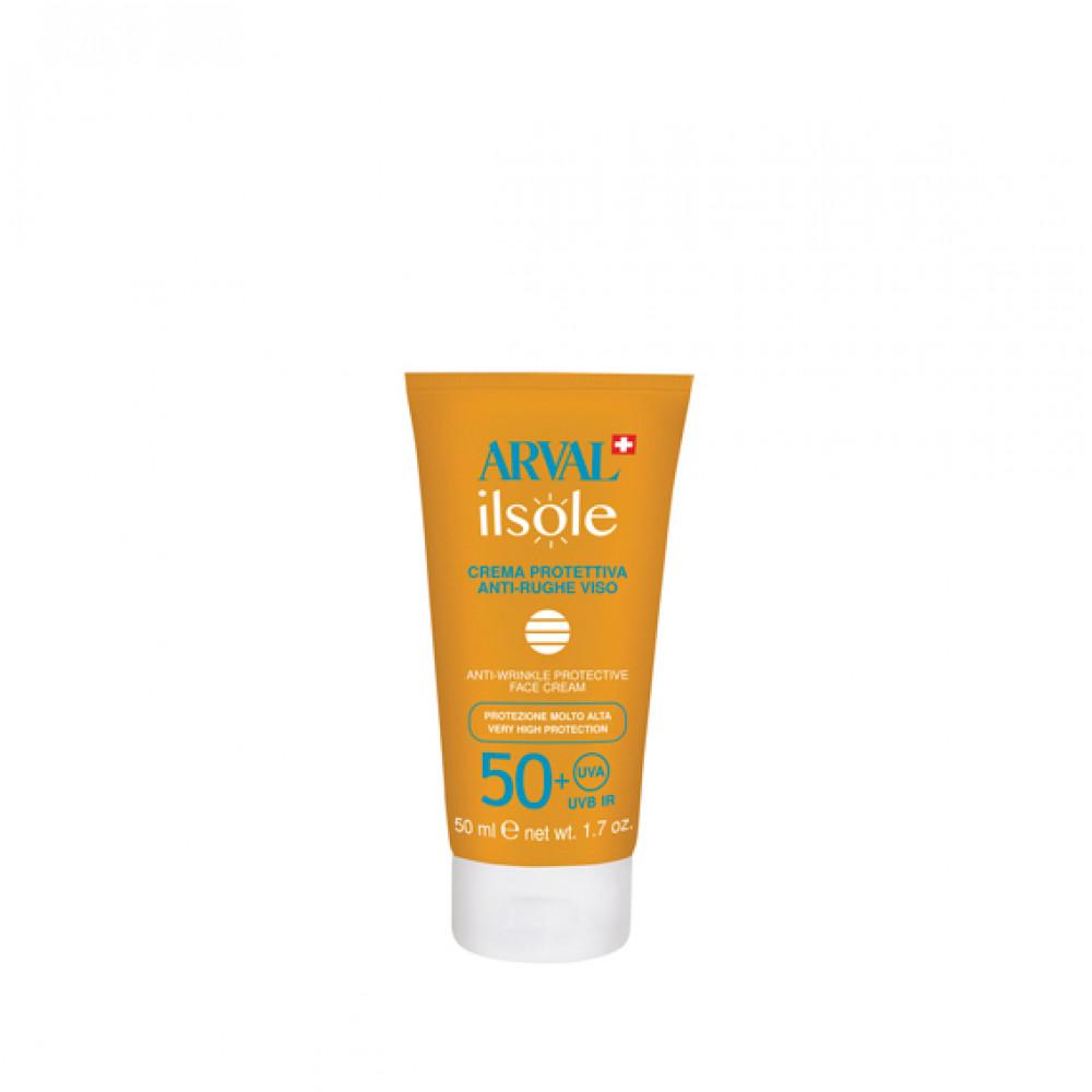 Anti-wrinkle protective face cream SPF 50+ tube 50 ml