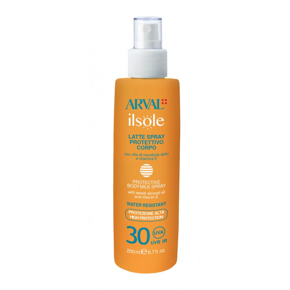 Protective body milk spray SPF 30 bottle 200 ml