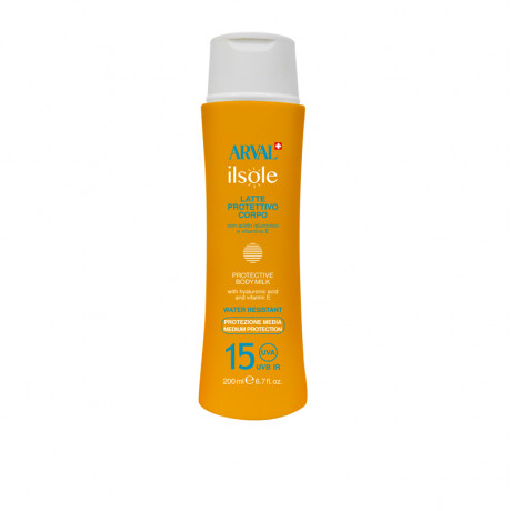 Protective body milk SPF 15 bottle 200 ml