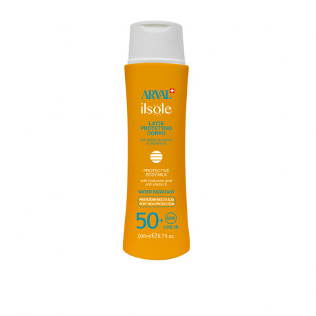 Protective body milk SPF 50+ bottle 200 ml