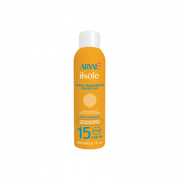 Transparent protective spray SPF 15 bottle 200 ml