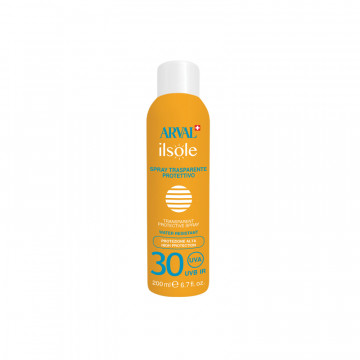 Transparent protective spray SPF 30 bottle 200 ml