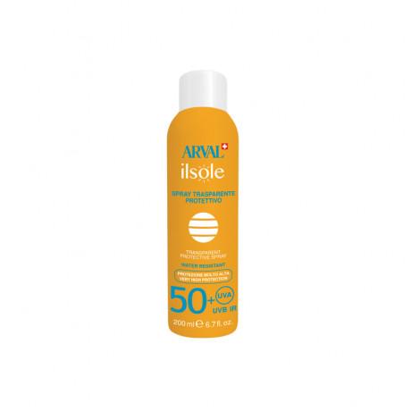 Transparent protective spray SPF 50+ bottle 200 ml