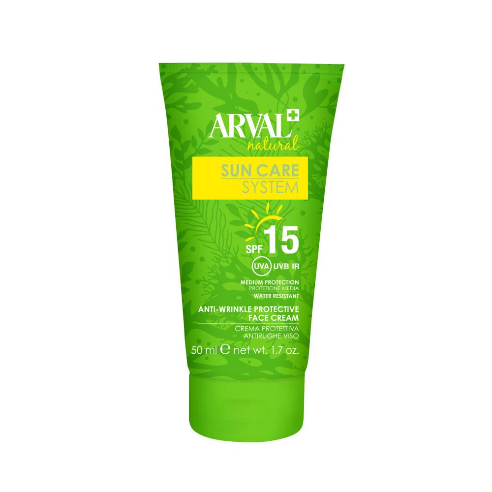 Anti-wrinkle protective face cream SPF15 tube 50 ml